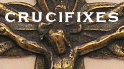 Catholic crucifixes and religious crucifixes in bronze and sterling silver wholesale