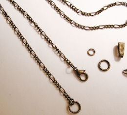 Antiqued Bronze Chains